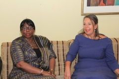 Left-H.E.-Dr.-Isatou-Touray-Vice-President.-Right-H.E.-Marion-Weichelt-Krupski-Swiss-Ambassador-to-The-Gambia
